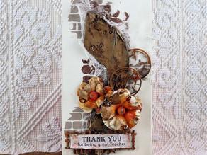 Box for a chocolate for a teacher/ Czekoladownik dle nauczyciela.