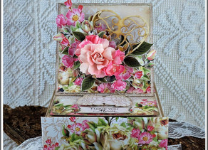 Easel Card with a drawer!