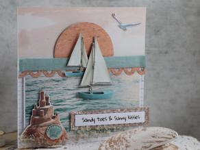 Summer greeting card!