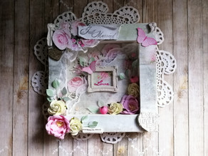Wedding shadow Box!!!