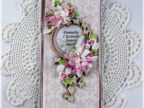 Holy Communion Card for a Girl/Kartka Komunijna dla Dziewczynki!