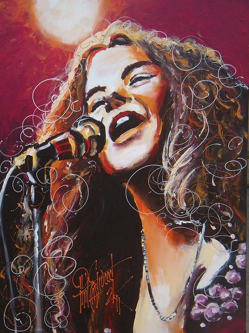Janis Joplin 18x24