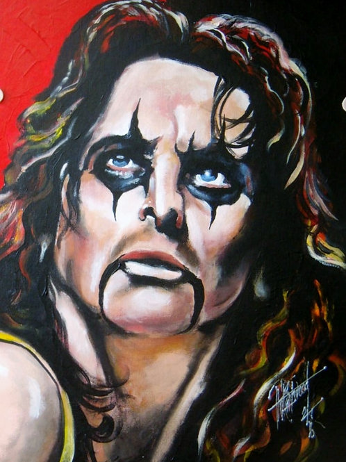 Alice Cooper 18x24