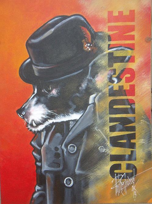 Clandestine(Chihuahua) 18x24