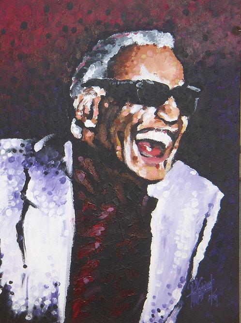 Ray Charles 18x24