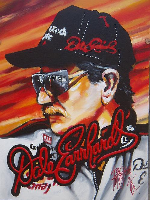 Dale Earnhardt 18x24