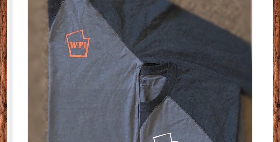 New Era WPI 3/4 Sleeve Baseball Tee