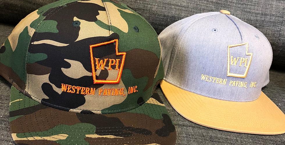 Flat Brim Snap Back Hat