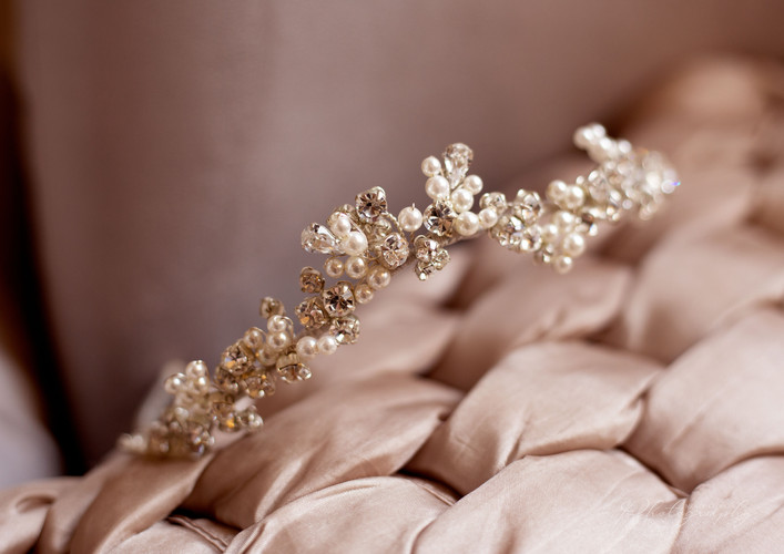 Beautiful accessories from the Alrewas Hayes shoot, provided by Ivory White Bridal