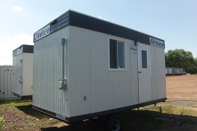 Exterior mobile office trailers 8x16