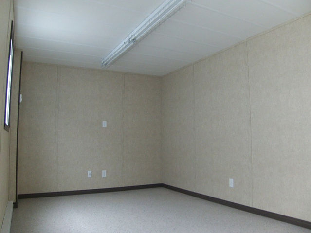 Interior mobile office trailers 10' x 32'