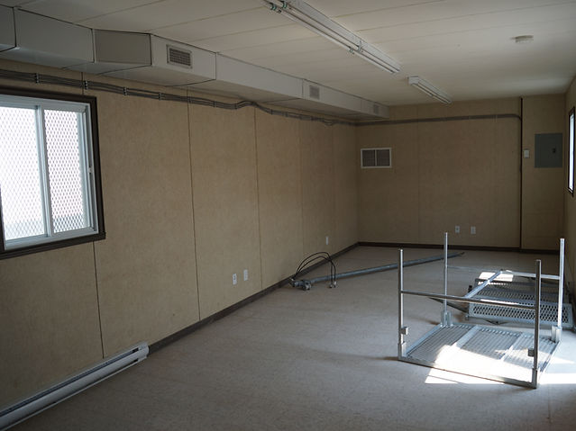 Interior mobile office trailers 12' x 60'