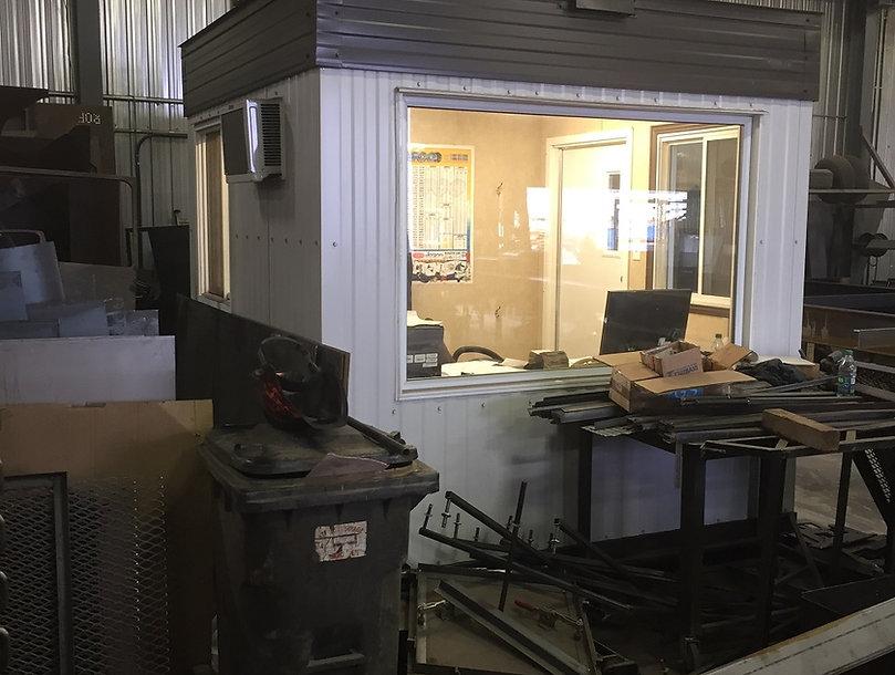 Bureau d'usine