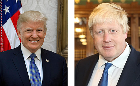 Donald Trump & Boris Johnson