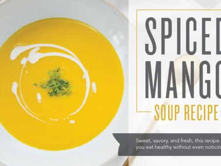 Spiced Mango Soup Recipe