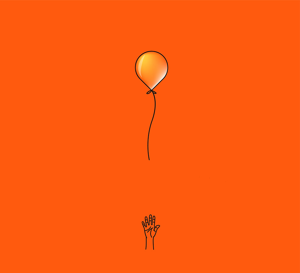 Letting go of a balloon