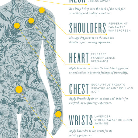 Where to Apply Essential Oils