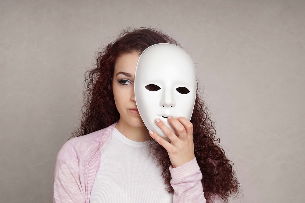 Hiding behind a mask