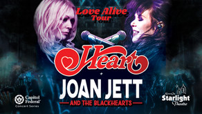 The Omaha View with Heart/Joan Jett Love Alive Tour @ Starlight Theater, KC
