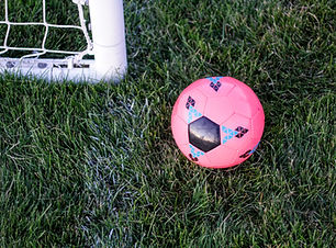 Ballon de foot rose