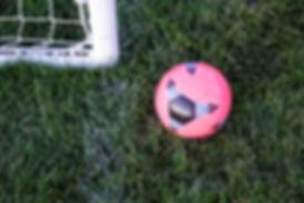 ピンクサッカーボール