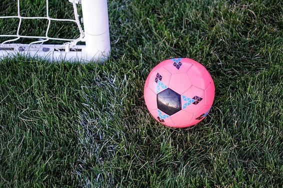 Rosa Fußball
