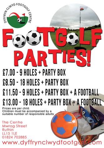 Footgolf Parties