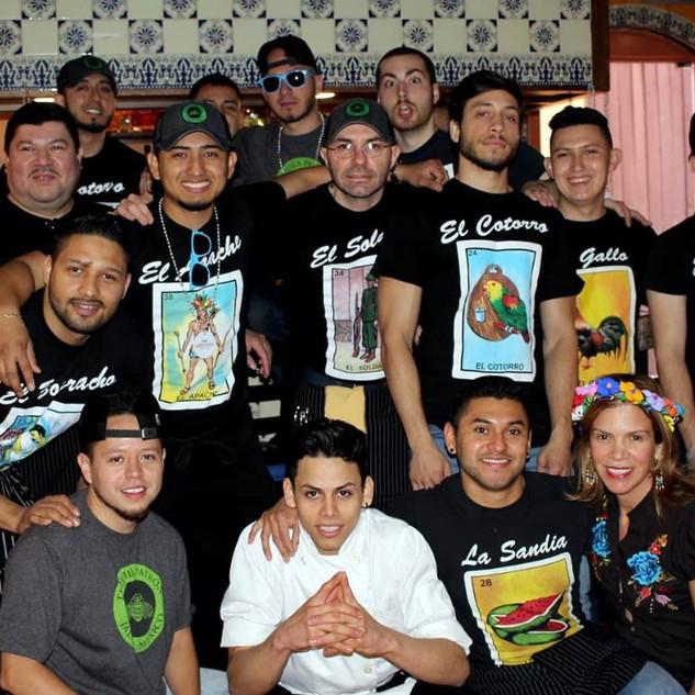 The Casa Romero Family