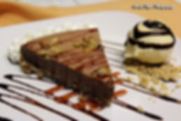 Pastel de Cafe y Chocolate