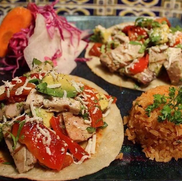 Fresh Tuna Tacos a neighborhood favorite
