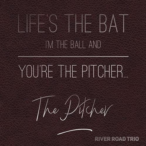 Canvas Lyric Art The Pitcher
