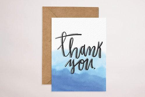 Thank You (Watercolour)