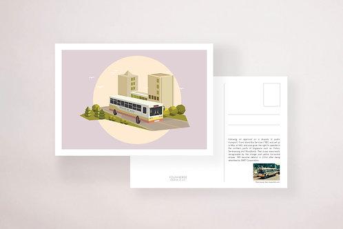 Trans Island Bus Postcard