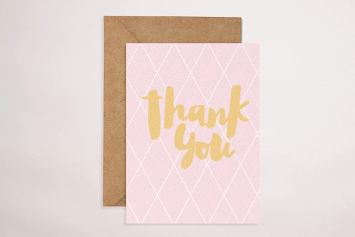 Thank You (Pink)