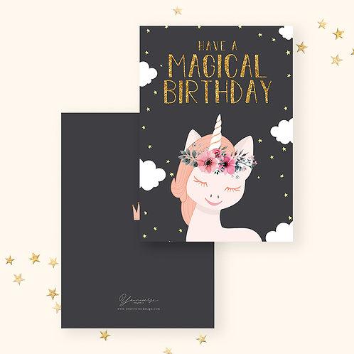 Happy Birthday(Magical Unicorn)