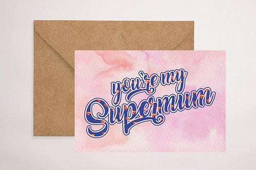 Supermum Card