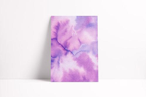 Tie-Dye Notebook