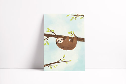 Chillin' Sloth Notebook