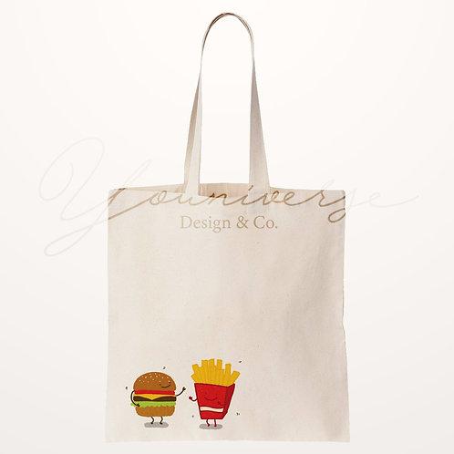 Burger Fries Totebag