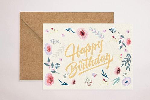 Birthday (Floral)