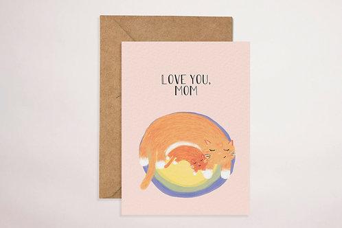 Mama Cat Card