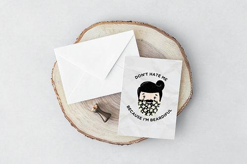 Beardiful Greeting Card