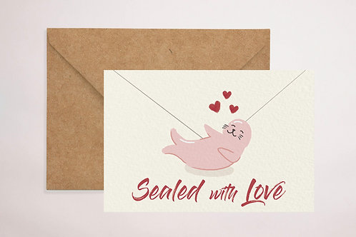 Sealed with Love Card