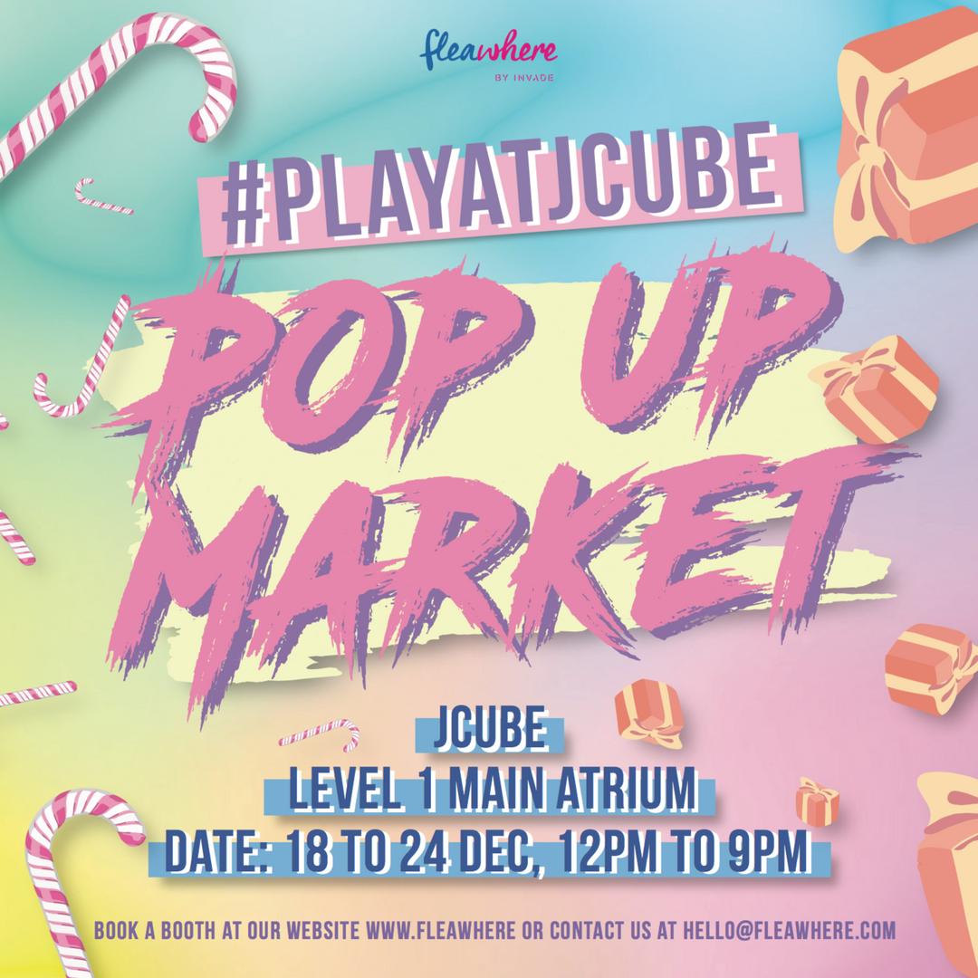 #PLAYATJCUBE Pop Up Market