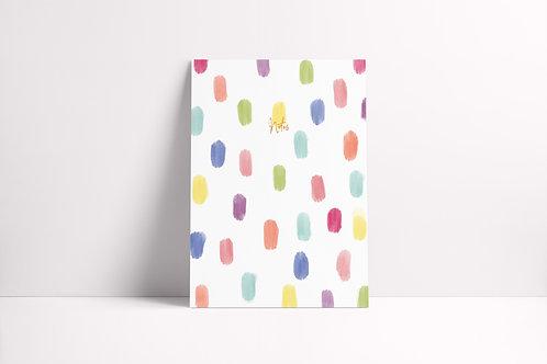 Brushstroke Notebook