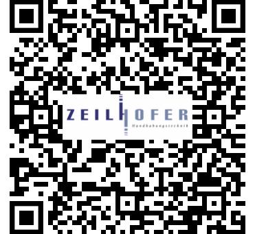 Ihr mobiler Zugang zur Welt von Zeilhofer über die neue APP