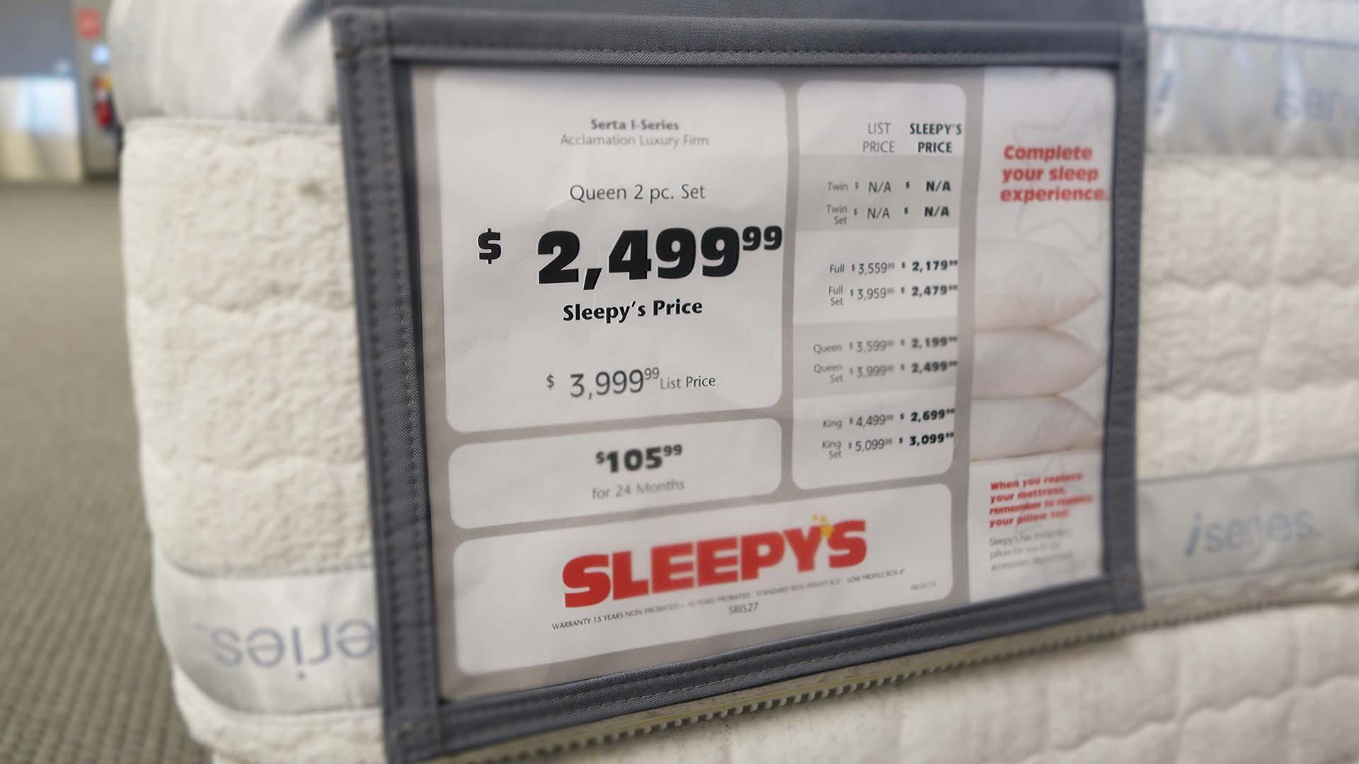 Pricing Signage
