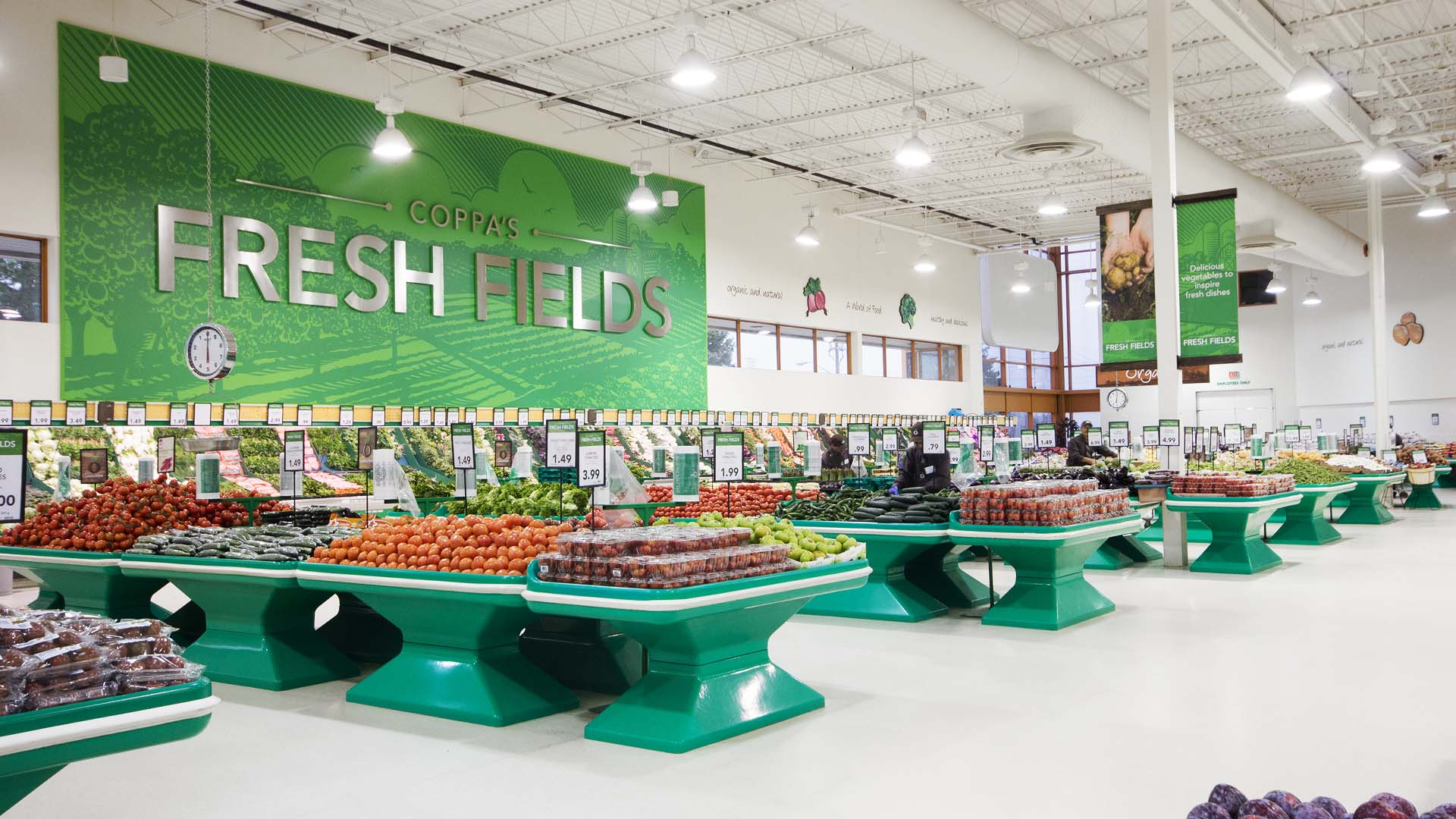 Produce Refreshed Interior