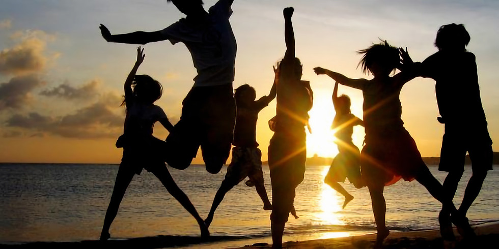 Portugal Lagos Beach - Morning transpersonal conscious dance every week day