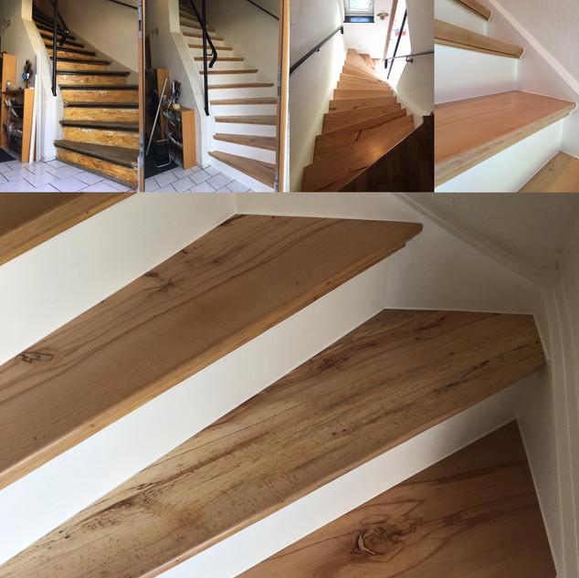 Holztreppensanierung 1